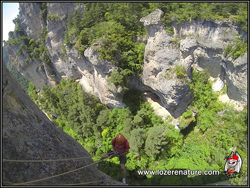 lozere nature canyon saint marcellin grand rappel